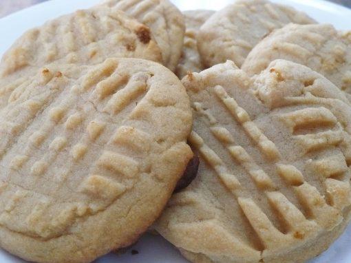 Peabutter Cookies