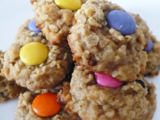Peabutter Monster Cookies