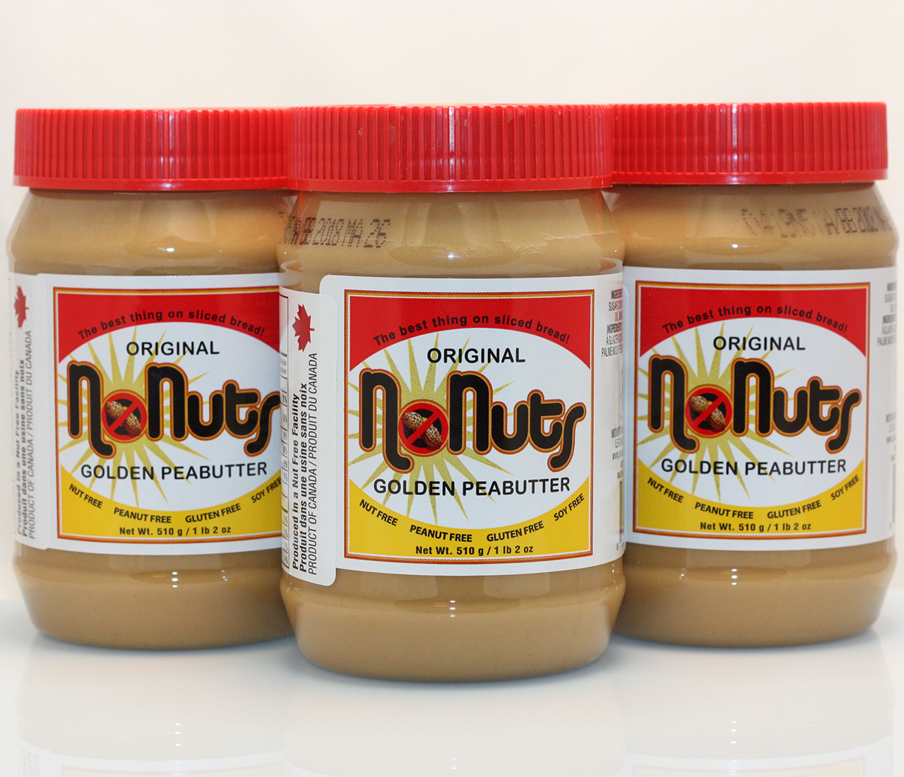 Original No Nuts Golden Peabutter