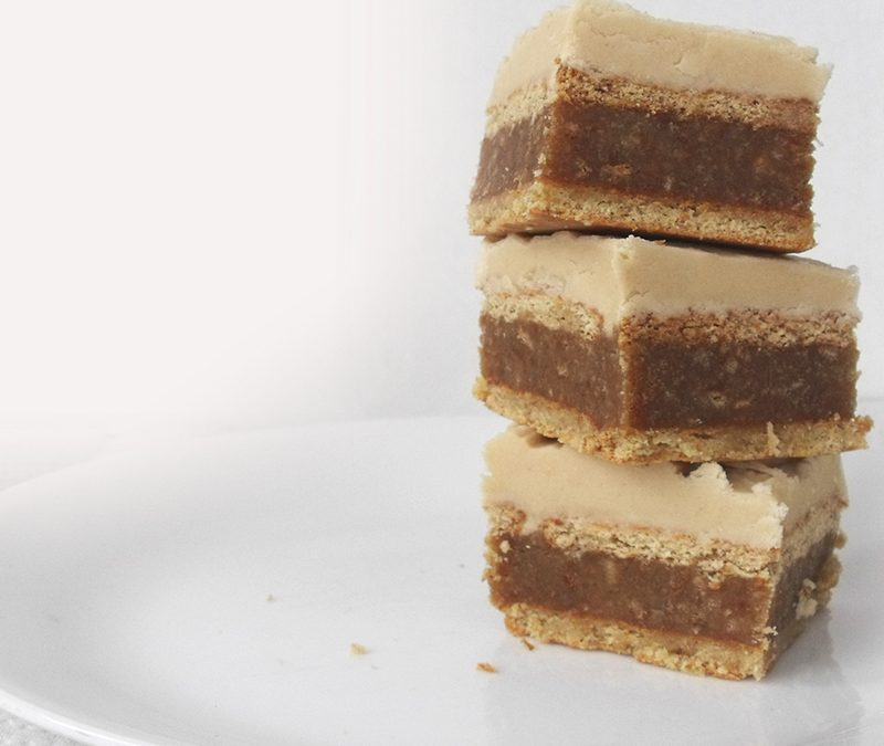 Peabutter Ice Box Squares