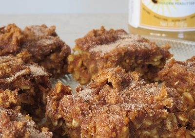 Pumpkin Peabutter Oat Bar